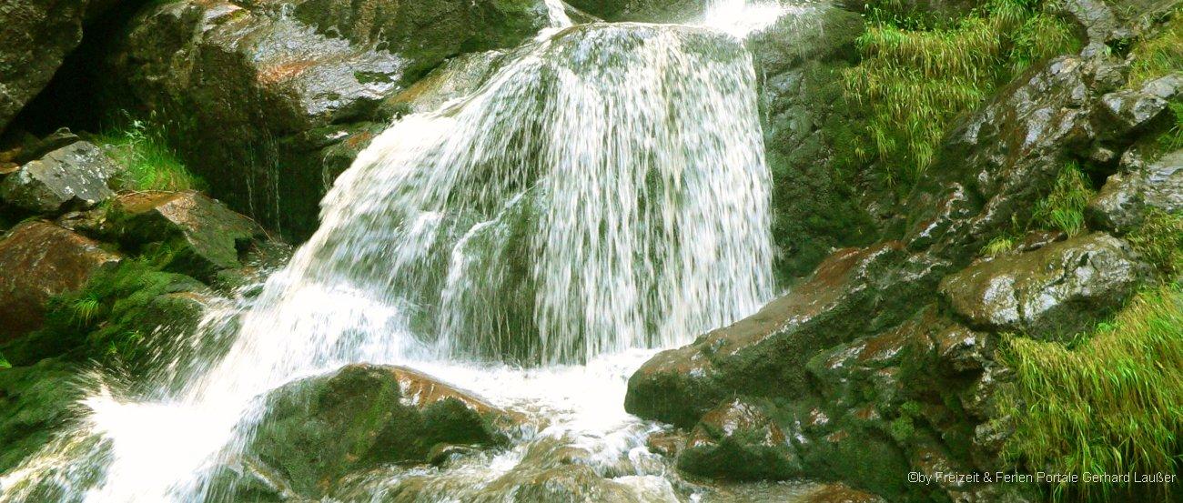 Rieslochwasserfälle bei Bodenmais