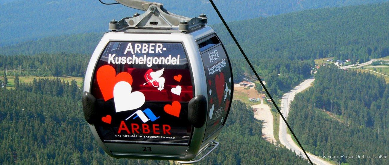 Kuschelgondel der Arber Bergbahn bei Bodenmais