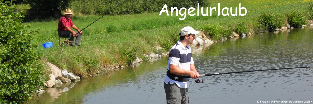 Bayerischer Wald Angelurlaub an Flüssen und Seen