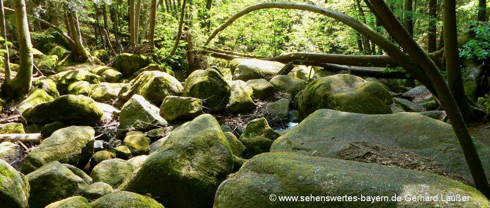 Bayerischer Wald Wanderurlaub in der Oberpfalz und in Niederbayern
