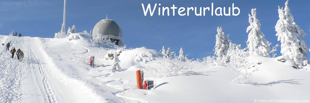 Bayerischer Wald Skiurlaub und Winterurlaub
