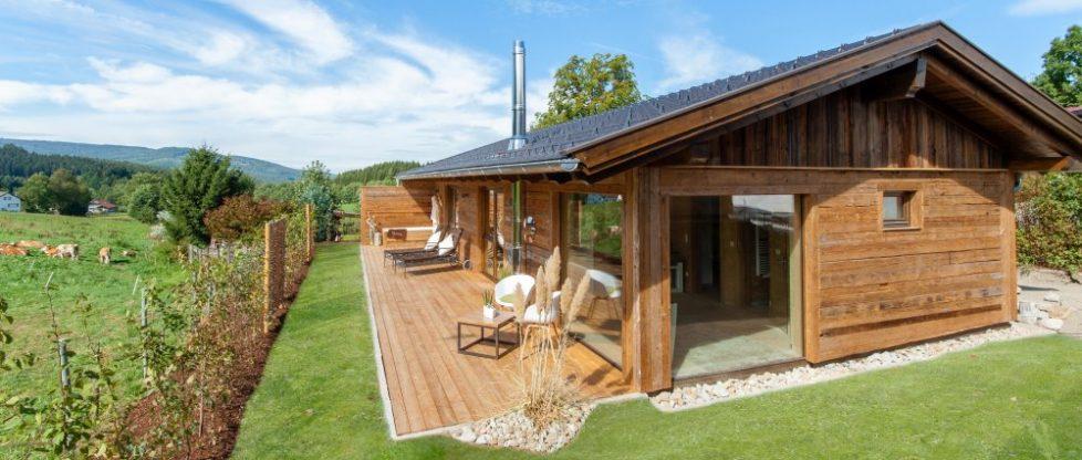 Bayerischer Wald Chalet mit Kamin und Sauna mieten