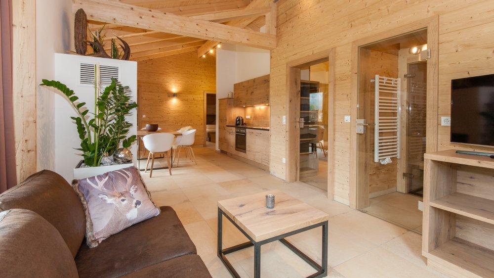 bayerischer wald chalet mit kamin mieten hütte mit sauna in bayern - Luxus Wohnung Mit Kaminofen