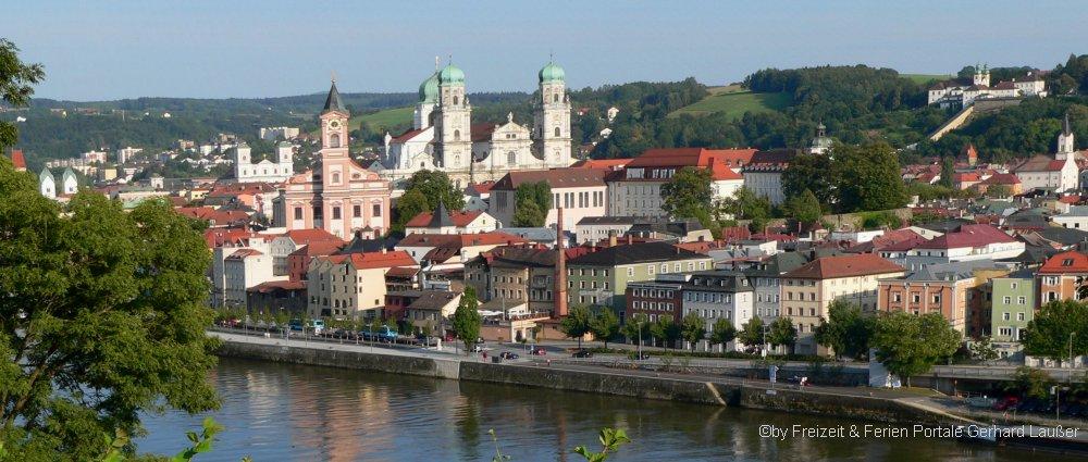 Sehenswürdigkeiten und Unterkünfte im Landkreis Passau