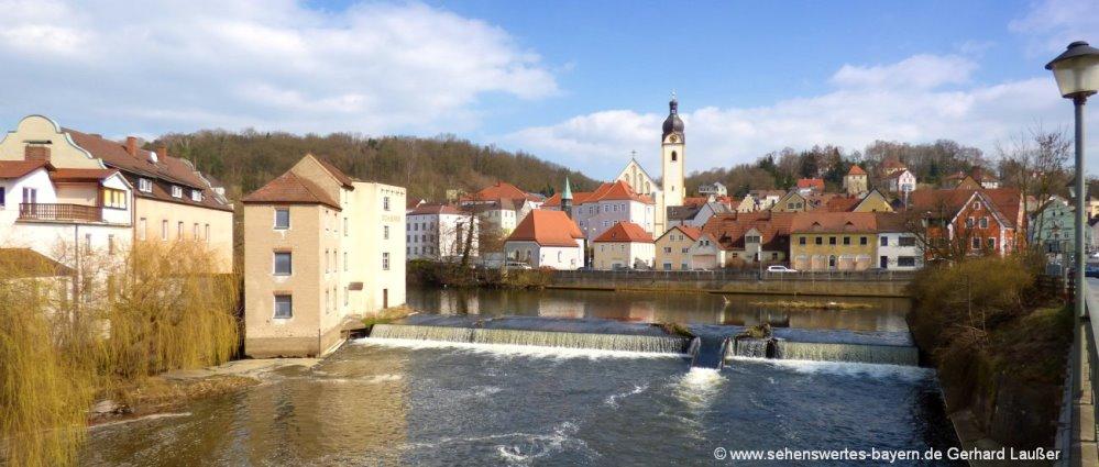 Sehenswürdigkeiten und Unterkünfte im Landkreis Schwandorf