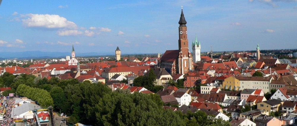 Sehenswürdigkeiten und Unterkünfte im Landkreis Straubing