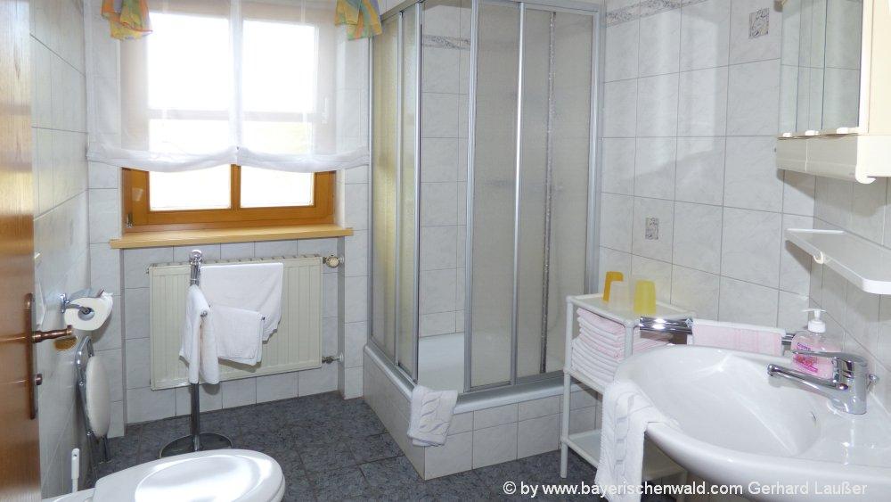 tuerlinger familienurlaub hotel ferienwohnungen badezimmer dusche 1000 bayerischer wald. Black Bedroom Furniture Sets. Home Design Ideas