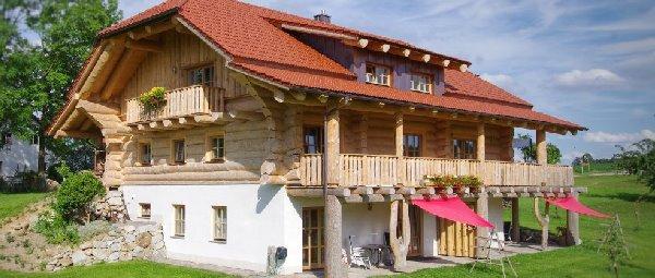 Luxus Holzhaus mieten am Lugerhof