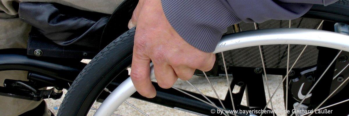 Bayerischer Wald barrierefreie Unterkünfte für Rollstuhlfahrer