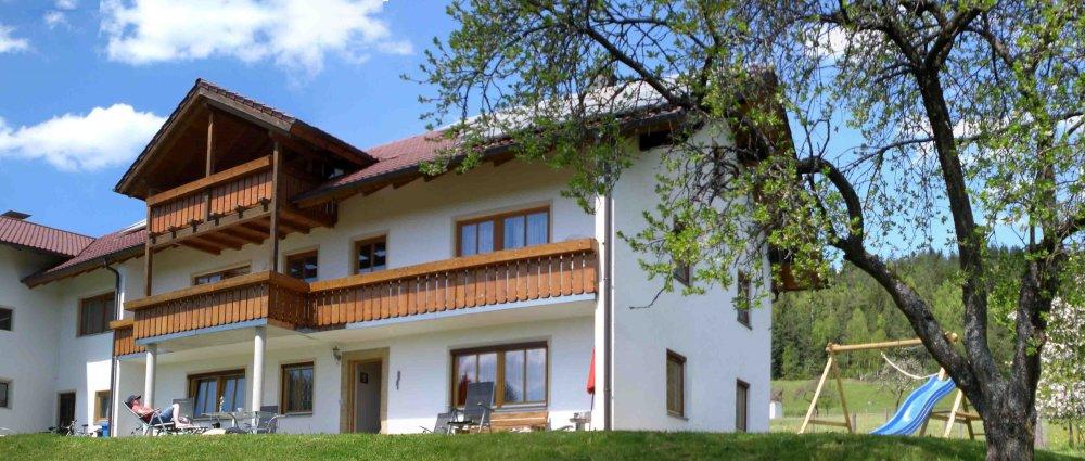 Ferienhaus Hamberger kinderfreundlich in ruhiger Lage Ansicht vom Haus