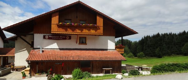 Familien Gasthof mit Bauernhof in Böbrach