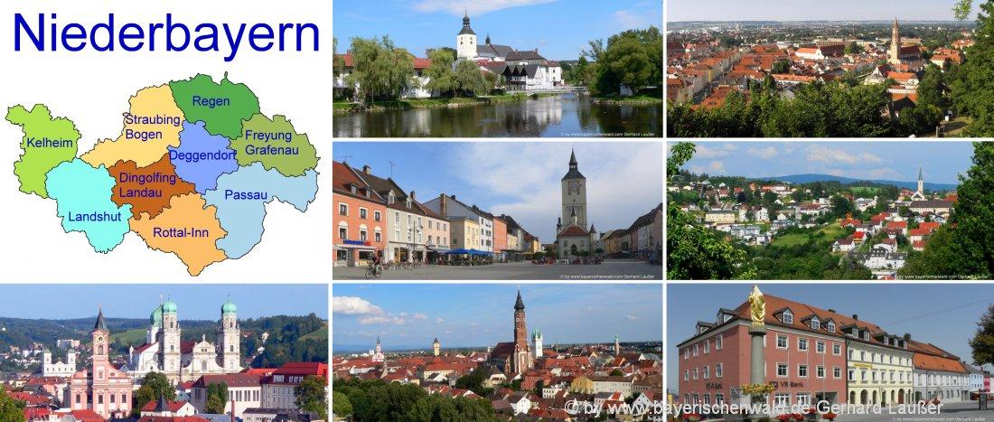 niederbayern-unterkunft-landkreise-ferienwohnung-gasthof-städtereisen