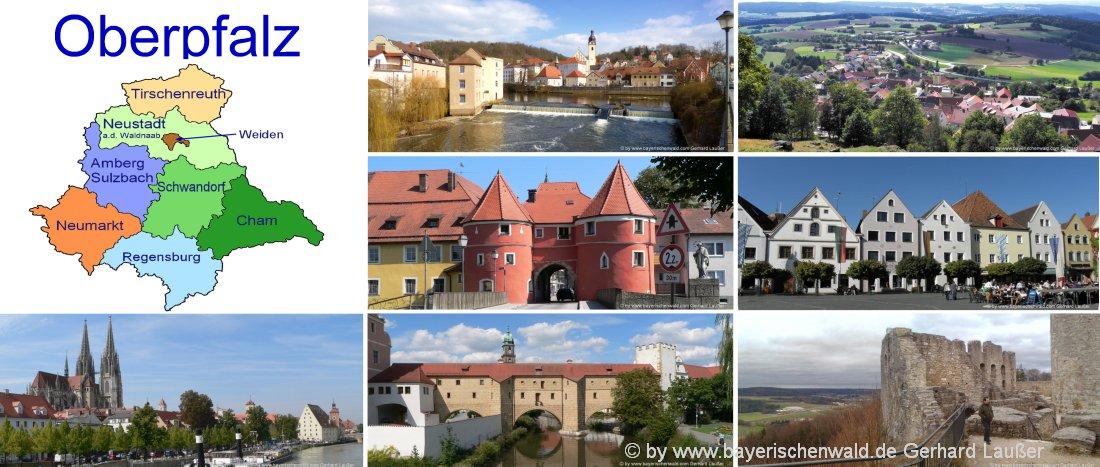 oberpfalz-unterkunft-landkreise-ferienhaus-pensionen-städtereisen