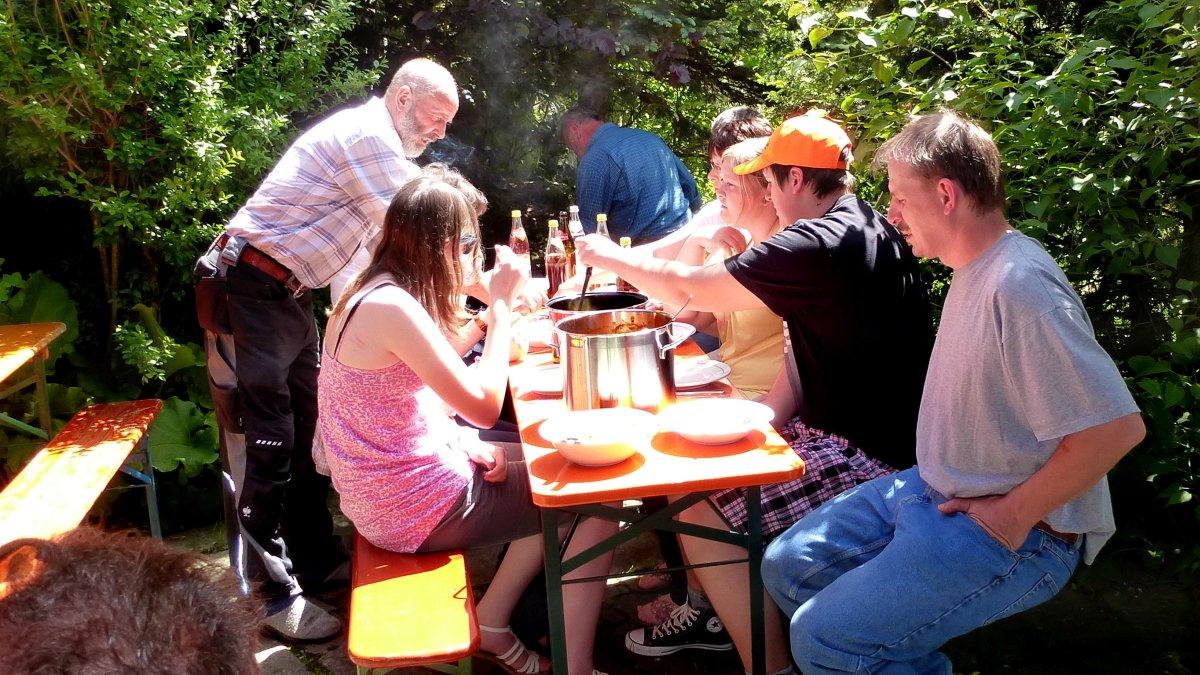 richards-berghuetten-gruppenurlaub-bayern--selbstversorgerhaus-geselligkeit