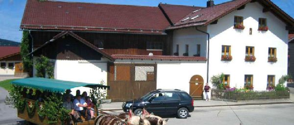 Übernachtung in Rinchnach Bauernhof mit Spielscheune