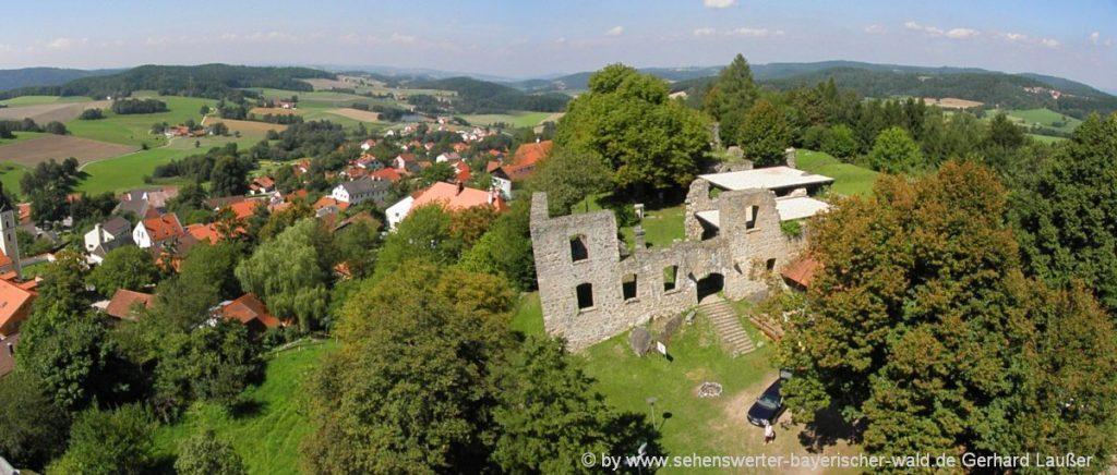 Ausflugsziele und Sehenswürdigkeiten Zell, Hetzenbach & Schillertswiesen