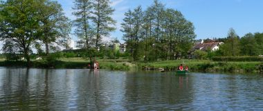 fishing holiday Bavarian Forest fishing lake river