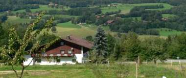 holiday house Bavarian Forest landscape nature vacation