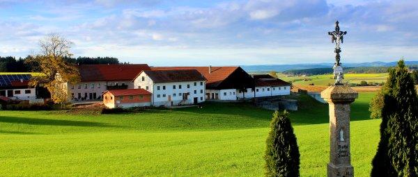 Urlaub am Bauernhof mit Hund und Kind in Bayern