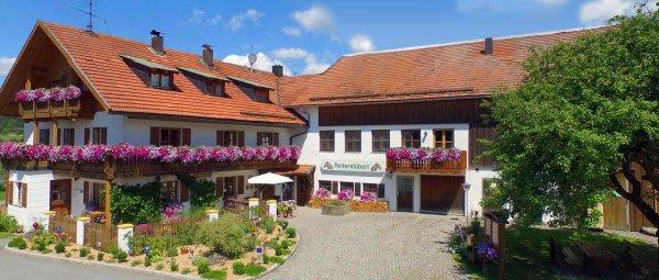 Bayerischer Wald Reiterhof mit Angelteich