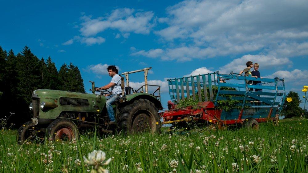 wieshof-bayerischer-wald-biobauernhof-kinderurlaub-traktor-mitfahren
